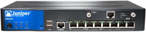juniper firewall SRX210
