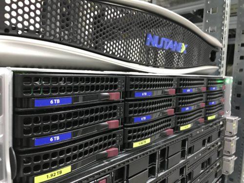 Nutanix in a stack